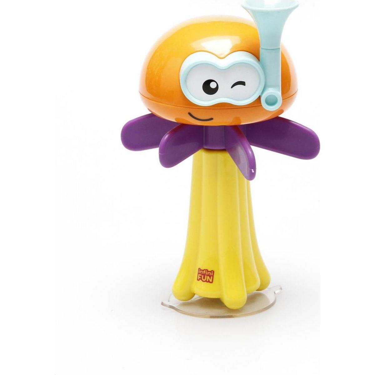 Alltoys Chobotnička do vany oranžová hlava