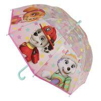 Alltoys Deštník dětský Tlapková patrola růžový
