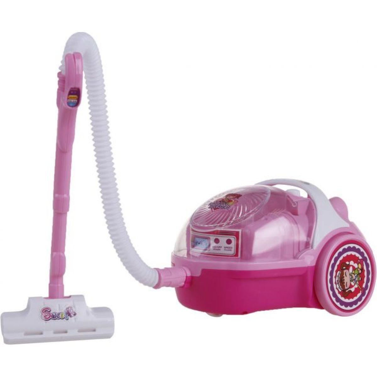 Alltoys Dětský vysavač mini - Světle růžová