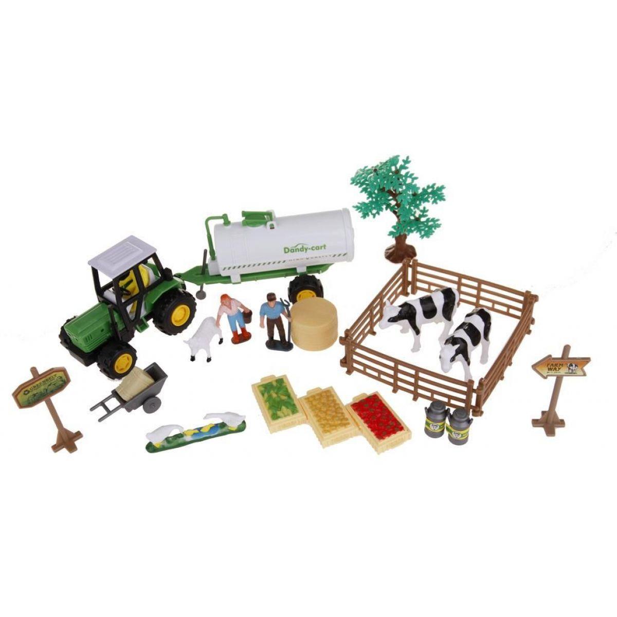 Alltoys Farmářský set v kufříku cisterna