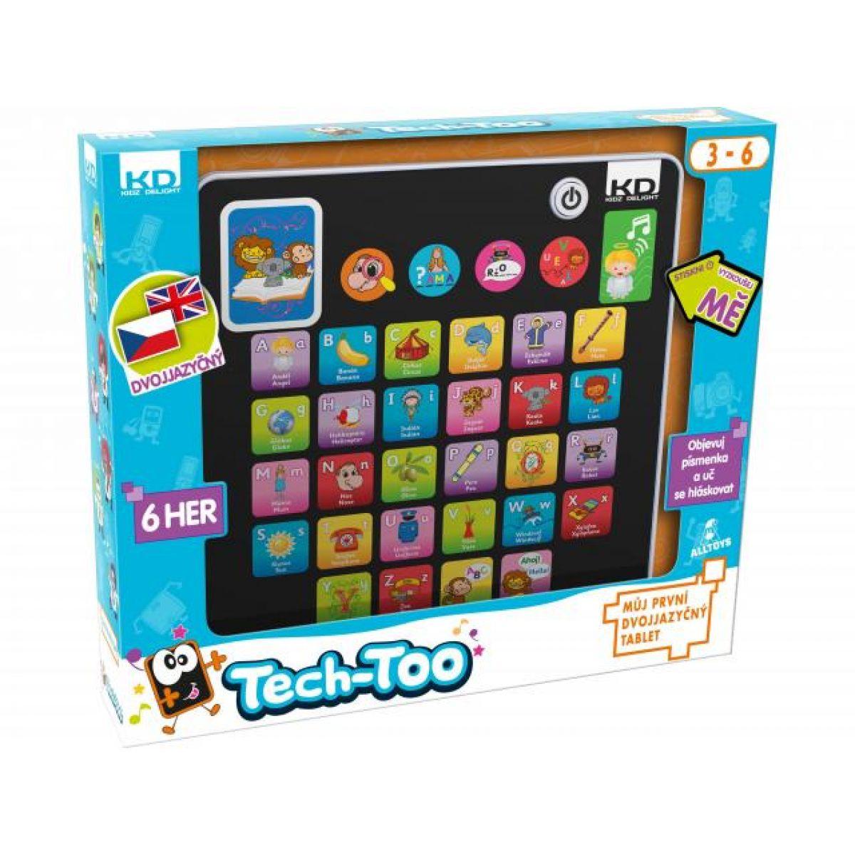 Tech-Too 400035 - Můj první dvojjazyčný tablet