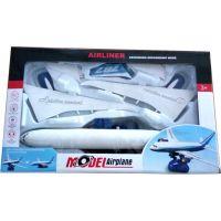 Alltoys Skládací letadlo s funkcí simulovaného vzletu