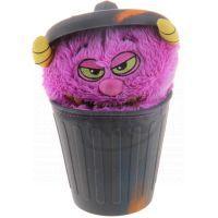 Stinky Plyšák z popelnice 12 cm - Fialová