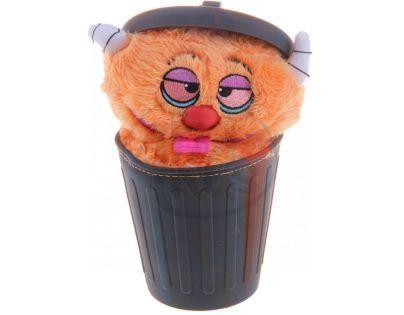 Stinky Plyšák z popelnice 12 cm - Oranžová