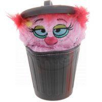 Stinky Plyšák z popelnice 12 cm - Růžová