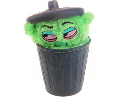 Stinky Plyšák z popelnice 12 cm - Zelená