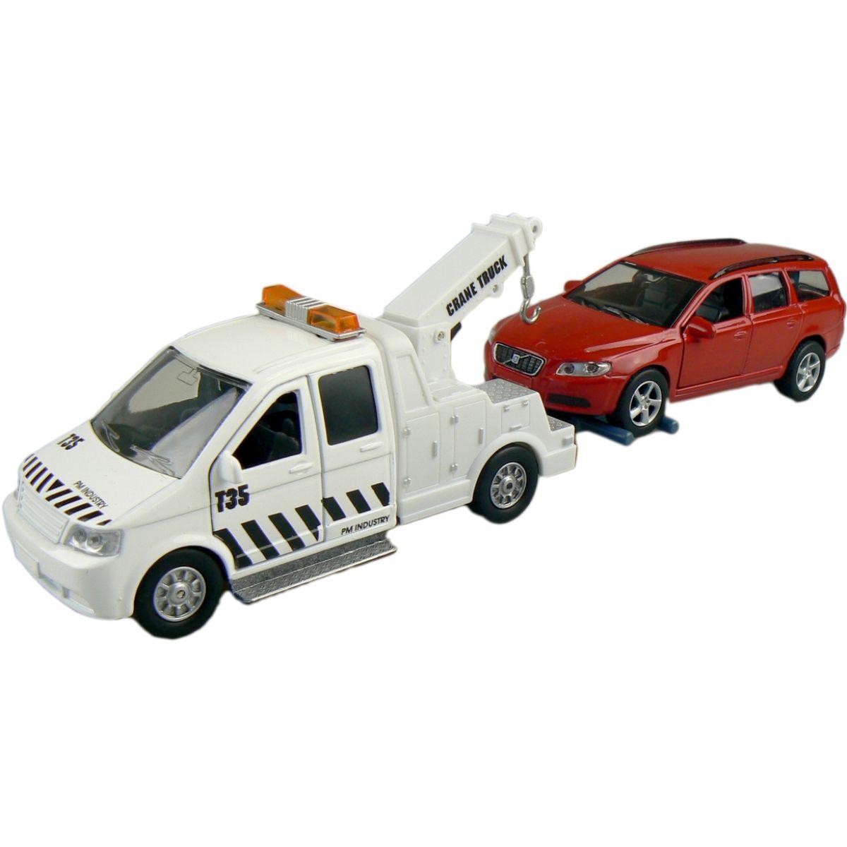 Alltoys Teamsterz Odtahovka - Červené auto