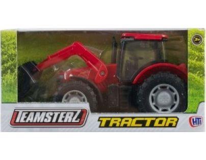 Alltoys Teamsterz Traktor - Červená