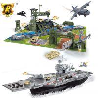 Alltoys Vojenský letadlový velký set