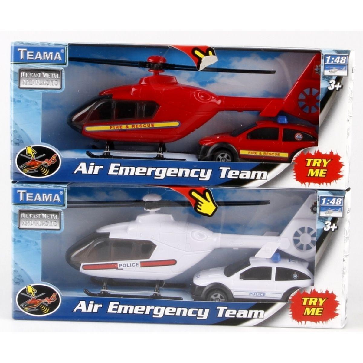 Vrtulník se zásahovým vozidlem 1:48