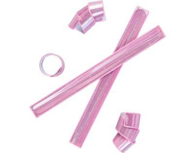 Altima 3M Reflexní samonavíjecí páska - Růžová