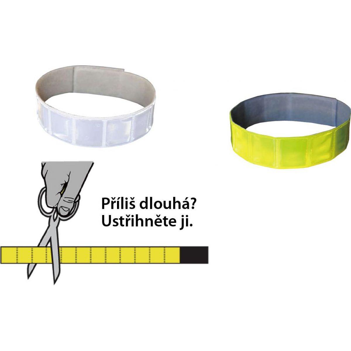 Altima Reflexná páska na suchý zips 3M