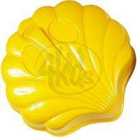 Androni Bábovičky Mořská zvířátka - Mušle žlutá