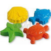 Androni Bábovičky Mořská zvířátka 4ks