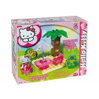 Androni Stavebnice mini set Slunečník s palmou pro Hello Kitty