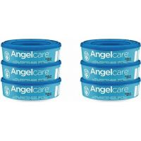 Angelcare Kazety náhradné 6 ks Angelcare