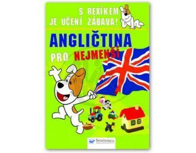 SVOJTKA & Co 0078603 - S Rexíkem je učení zábava! Angličtina pro nejmenší