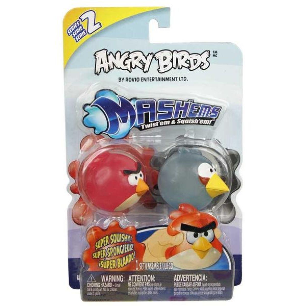 ANGRY BIRDS MASHEMS SERIE 2 PTÁCI 2 ks