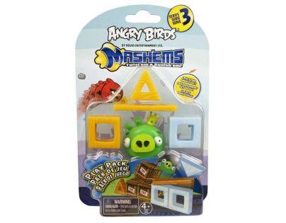 EP Line Angry Birds Mash´Ems Hrací sada - Prase zelené s korunkou
