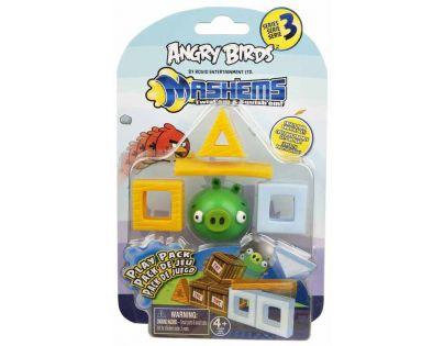 EP Line Angry Birds Mash´Ems Hrací sada - Prase zelené