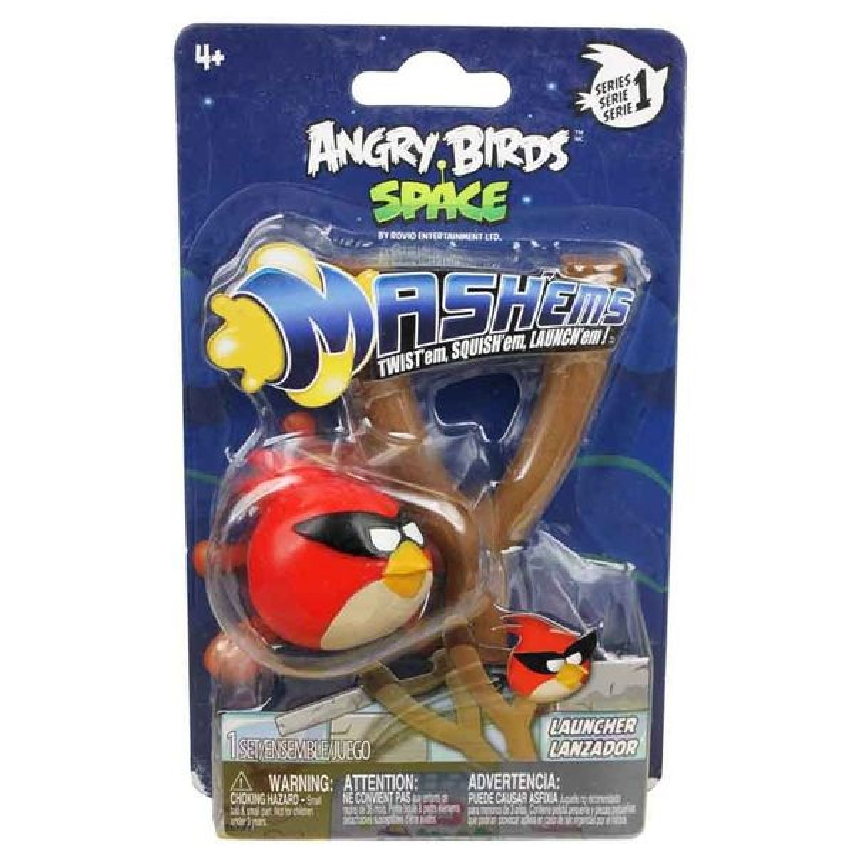 EPline 50202 - Angry Birds MASH´EMS SPACE Sada prak - fialový