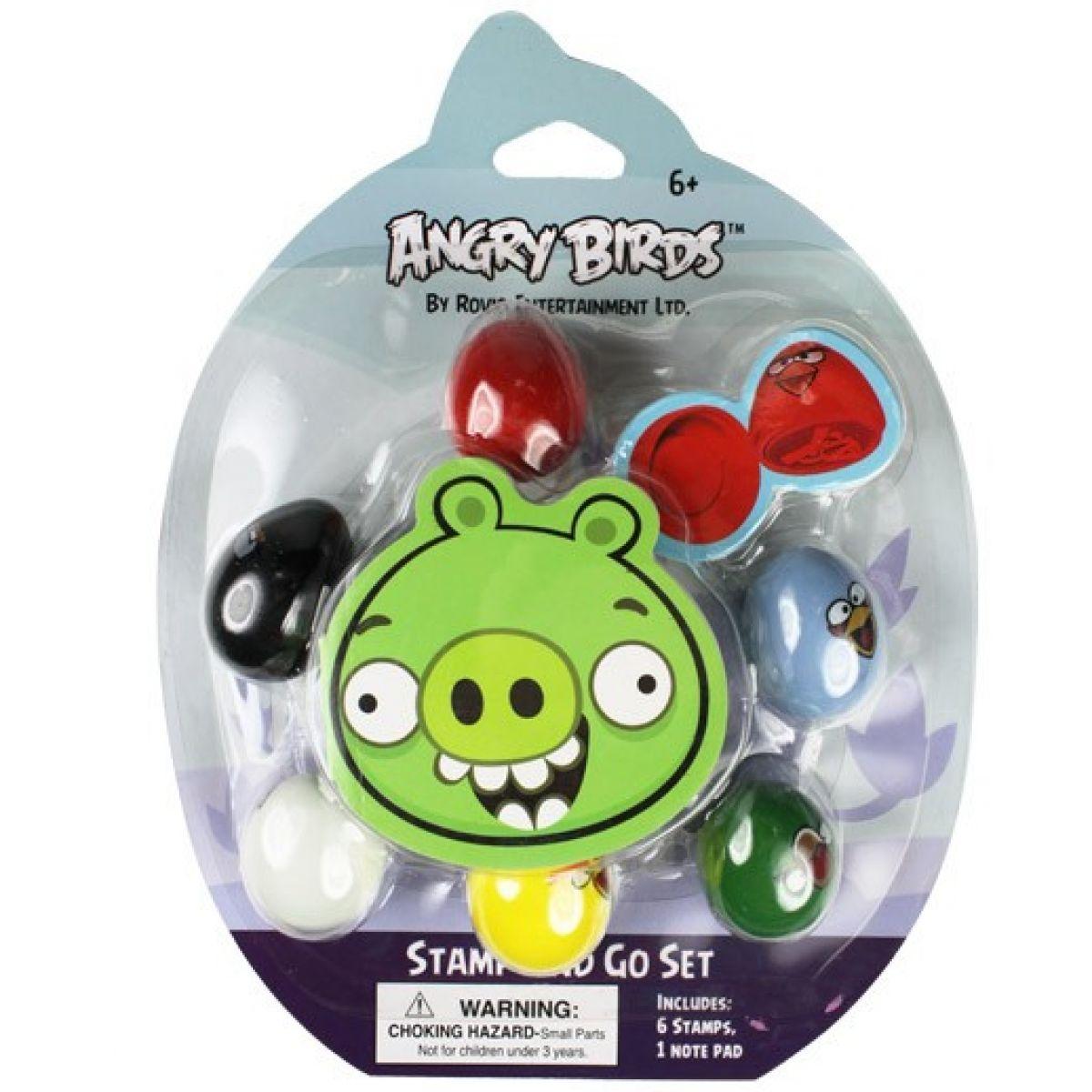 EP Line Angry Birds Razítka 6-pack Čuňasové EPLINE