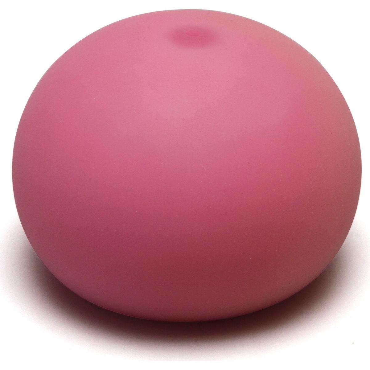 EP Line Antistresový míček 11 cm svítící ve tmě růžový