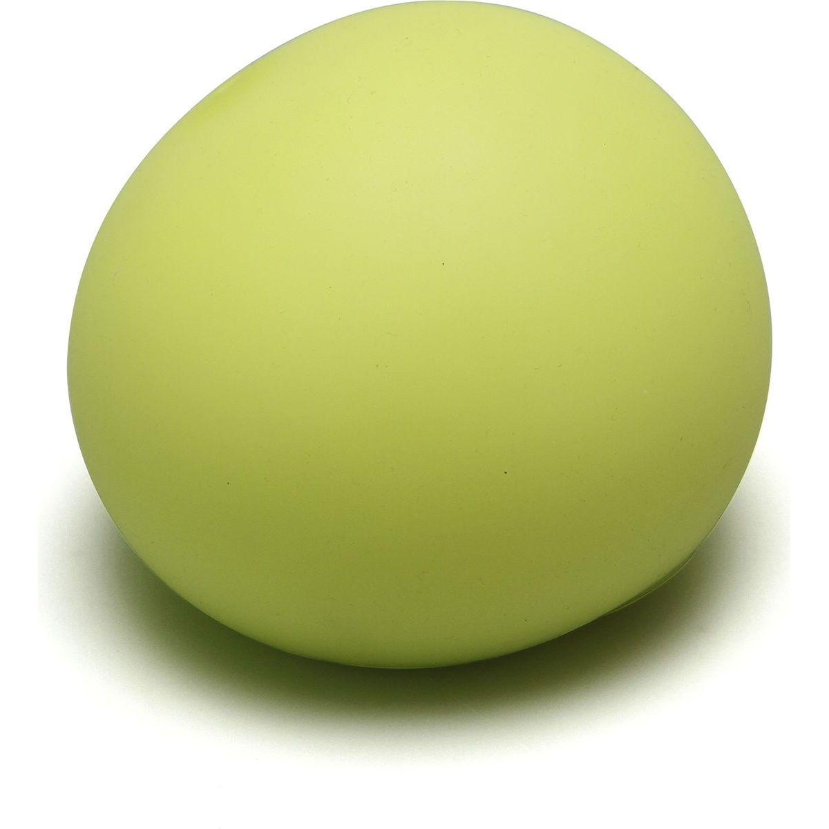 EP Line Antistresový míček 11 cm svítící ve tmě žlutý