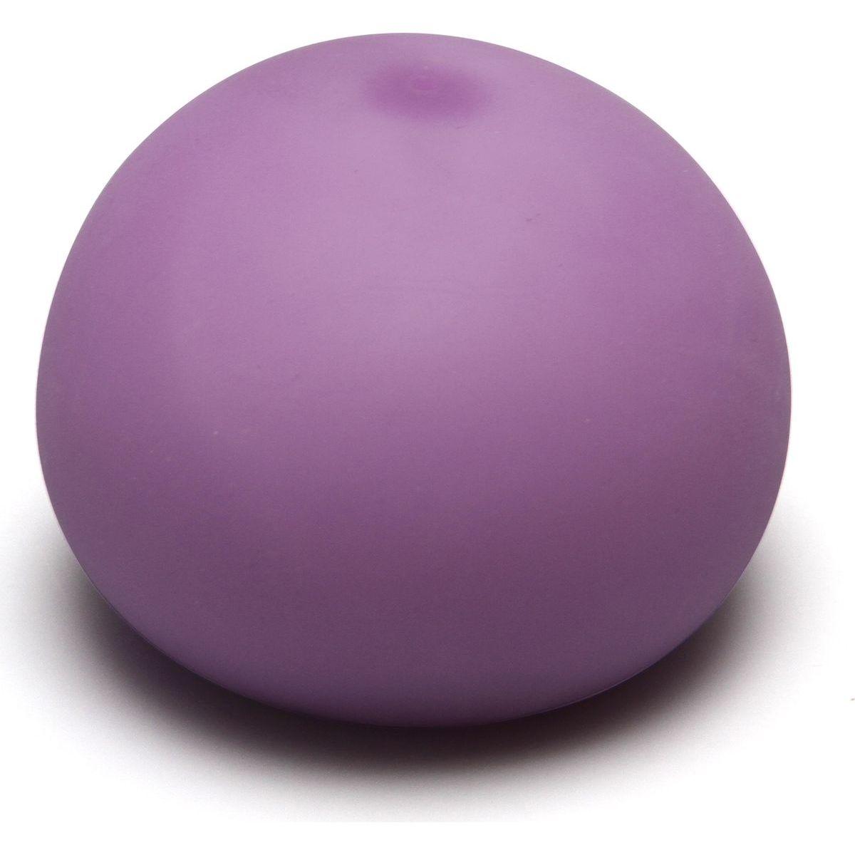 EP Line Antistresový míček 11 cm svítící ve tmě fialový