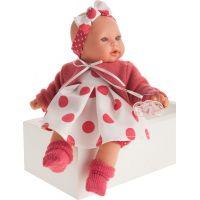 Antonio Juan Kika realistická panenka se zvuky a měkkým látkovým tělem 27 cm