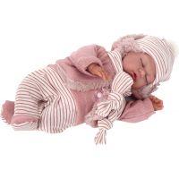 Antonio Juan 1787 Luni spiace realistická bábika bábätko so špeciálnou pohybovou funkcií a mäkkým látkovým telom 29 cm