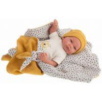 Antonio Juan 33113 Nico realistická bábika Bábätko s mäkkým látkovým telom 40 cm