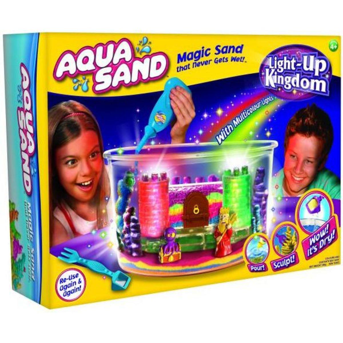 Alltoys 21041 - Aqua sand svítící království