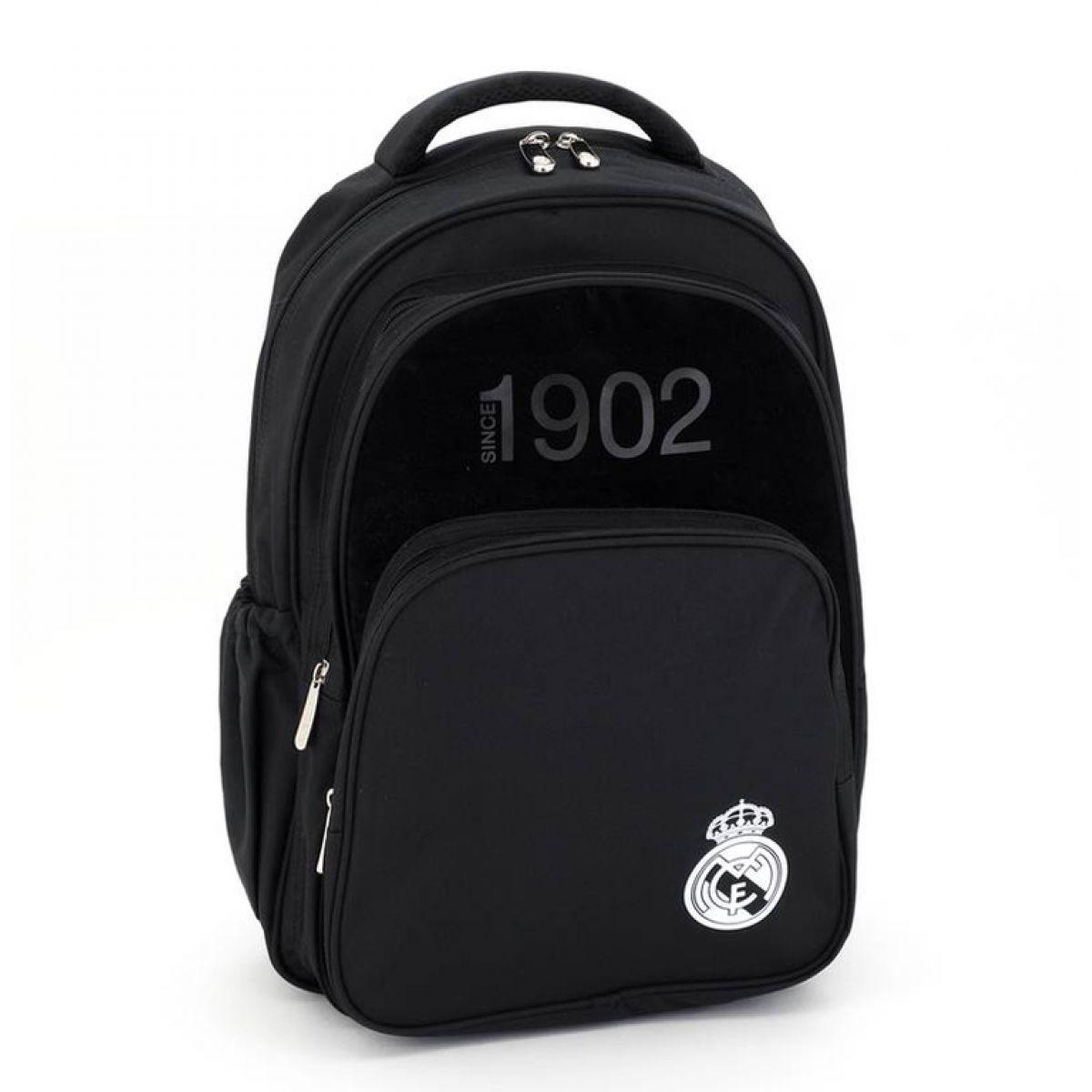 Ars Una Školní batoh Real Madrid black 3 komory