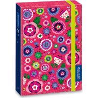 Ars Una Box na sešity La belle fleur A4 Růžové