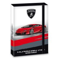 Ars Una Box na sešity Lamborghini červené A5