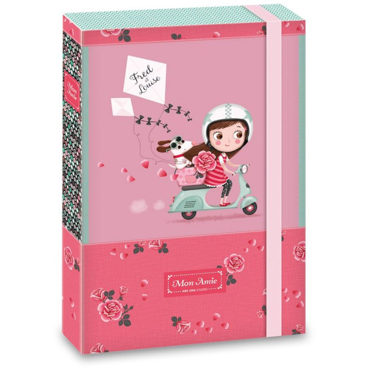 Ars Una Box na sešity Mon Amie 18 A4