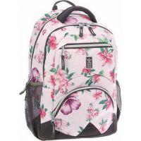 Ars Una Ergonomický školní batoh Flowers II