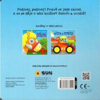 Sun Auta a stroje Kolečková knížka leporelo 2