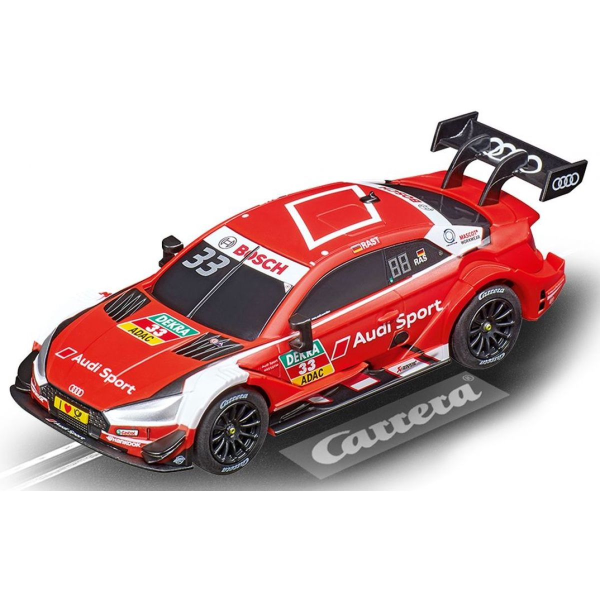 Carrera Auto 64132 Audi RS 5 DTM R.Rast