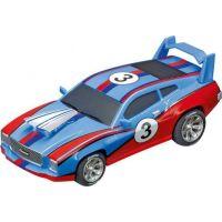 Carrera Auto k autodráze GO Muscle Car blue