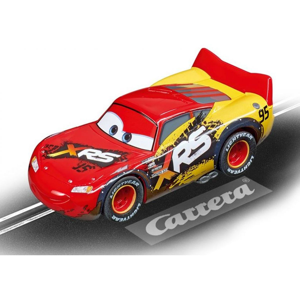 Auto k autodráze Carrera GO 64153 Cars Lightning McQueen Mud