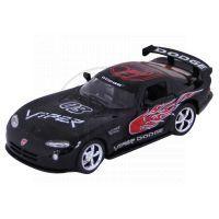 Kinsmart Auto Dodge Viper GTS-R kov 13cm - Černá