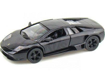 Kinsmart Auto Lamborghini Murciélago kov 12,5cm na zpětné natažení - Černá