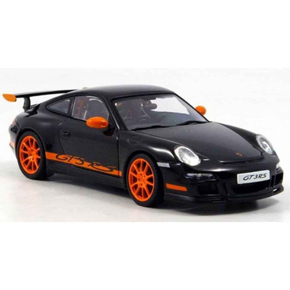 Kinsmart Auto Porsche 911 GT3 RS 2010 kov 12 cm - Černá