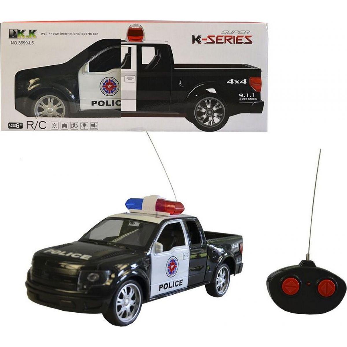 Made Auto policejní na dálkové ovládání 27MHz