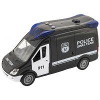 Auto Policie Swat 26 cm na setrvačník se zvukem