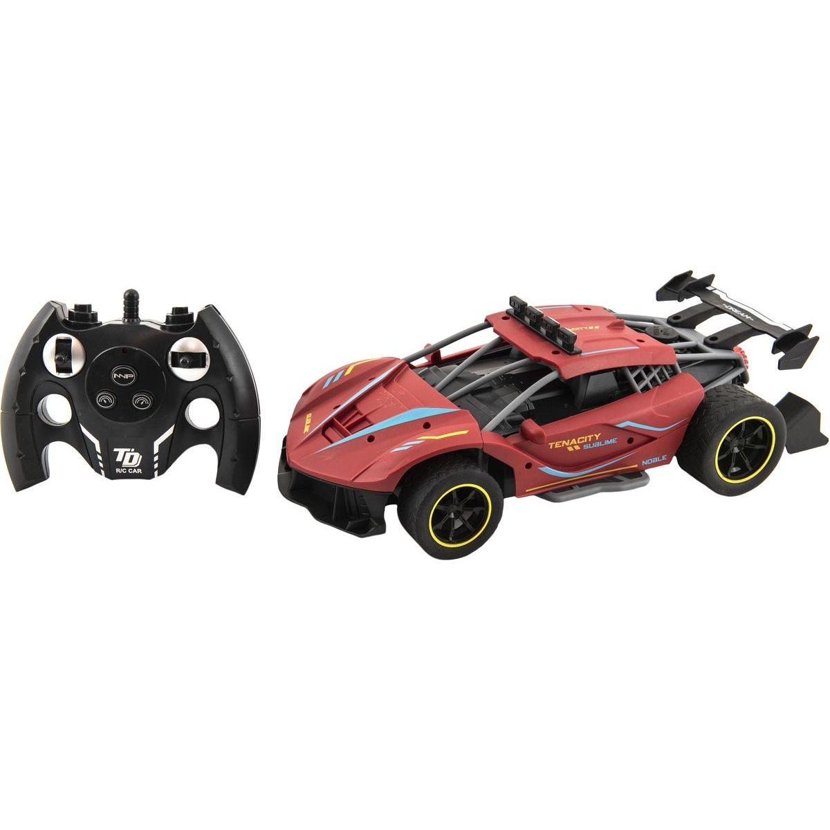 Auto RC Sport červené 33 cm 2,4 GHz s dobíjacím packom
