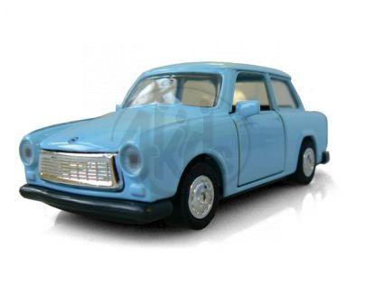 Auto Trabant kov 11 cm na zpětné natažení