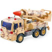 Auto vojenské se zvuky s raketou